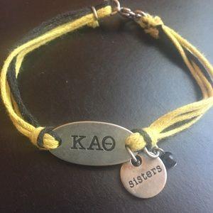 Kappa Alpha Theta KAO Friendship Bracelet